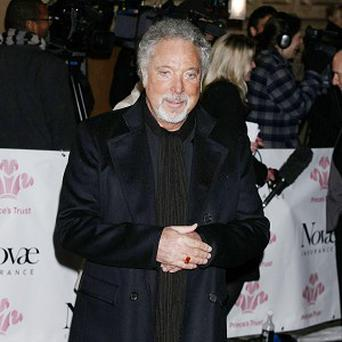 Sir Tom Jones arrives for The Prince's Trust Rock Gala, at the Royal Albert Hall