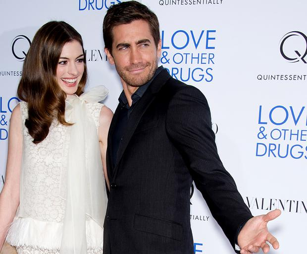 Anne Hathaway And Jake Gyllenhaal Attend The Love And Other Drugs Screening At The