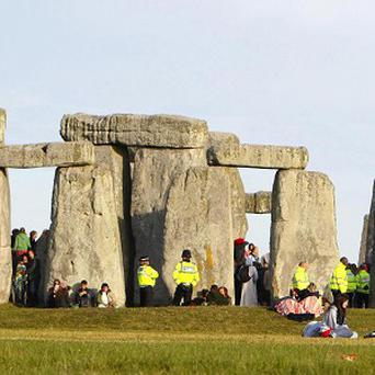 It has been claimed that neolithic engineers may have used ball bearings to built Stonehenge