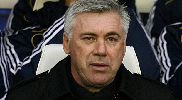 Chelsea manager Carlo Ancelotti. Photo: PA
