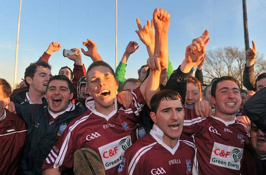 Clarinbridge are victorious. Photo: Sportsfile