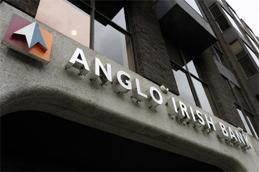 Anglo will absorb about €34bn of new capital to make up for bad loans, while other lenders will increase the total to as much as €54bn, the Government said in September. Photo: Bloomberg News