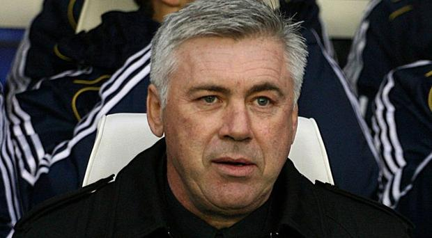 Carlo Ancelotti insists he remains in charge of Chelsea. Photo: PA