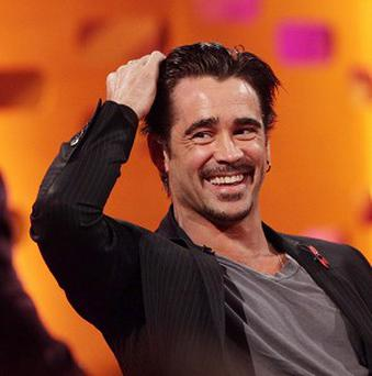 Colin Farrell says Ray Winstone is a lovely man, but a bit 'scary'
