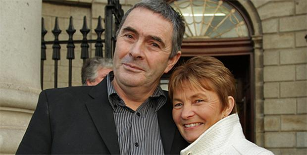 Martin Conmey with his wife Ann
