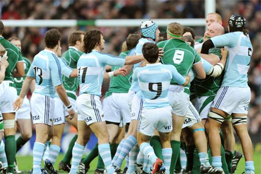 Argentina's last visit to Dublin in 2008 brought plenty of fireworks and, despite Ireland having many walking wounded, it may do so again on Sunday