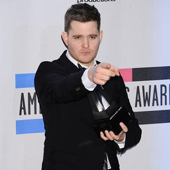 Michael Buble reckons the Canadian invasion is on the way