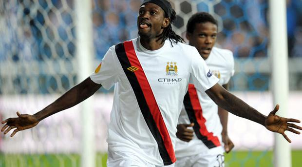 Emmanuel Adebayor. Photo: Getty Images