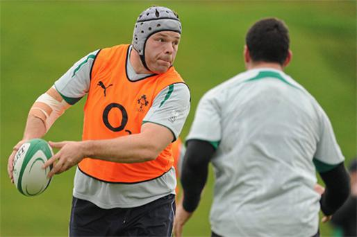 Front-row Mike Ross looks best equipped to do damage against Argentina on Sunday