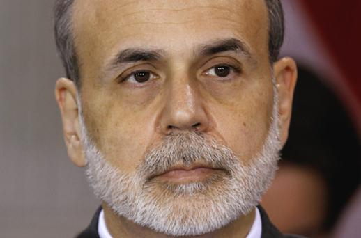 Federal Reserve chief Ben Bernanke. Photo: Bloomberg News