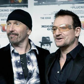 The Edge and Bono provide the score for the Spider-Man musical