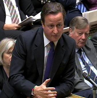 Prime Minister David Cameron praised the Movember charity drive