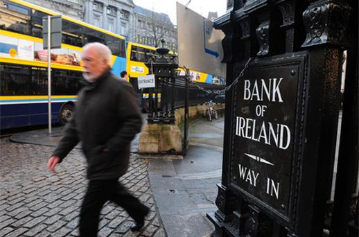Bank of Ireland: under review at Moody's. Photo: Bloomberg News