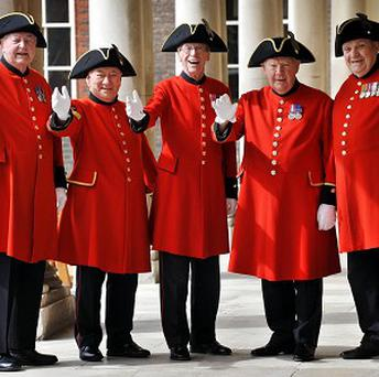 The Chelsea Pensioners have picked Brenda Sokell, 62, to join the race for the Christmas number one
