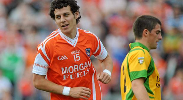 Armagh sharpshooter Jamie Clarke is back in the frame for Crossmaglen this Sunday after serving an eight-week ban