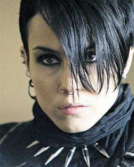 Noomi Rapace in this over-long final film
