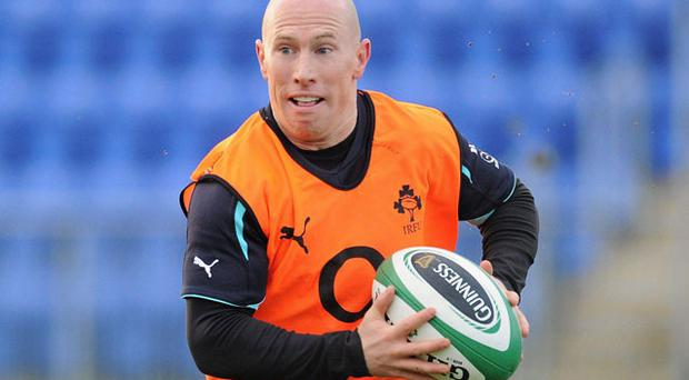 Peter Stringer. Photo: Sportsfile