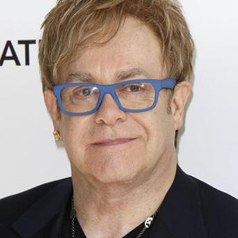 Sir Elton John hinted he may perform at the royal wedding