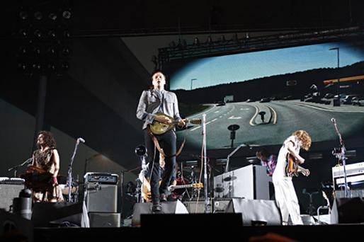 Canadian band Arcade Fire. Photo: Getty Images