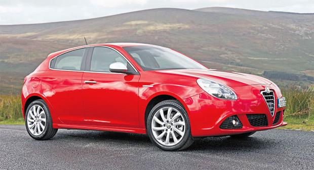 RED ALERT: The Alfa Giulietta does its best to invoke the marque's glorious past