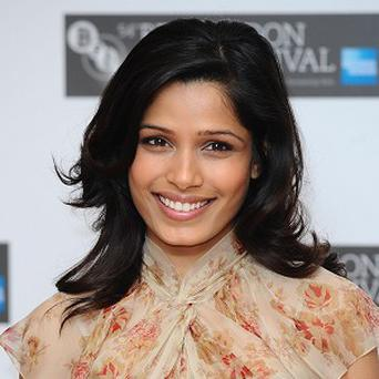 Freida Pinto says her and Dev Patel have a long distance relationship
