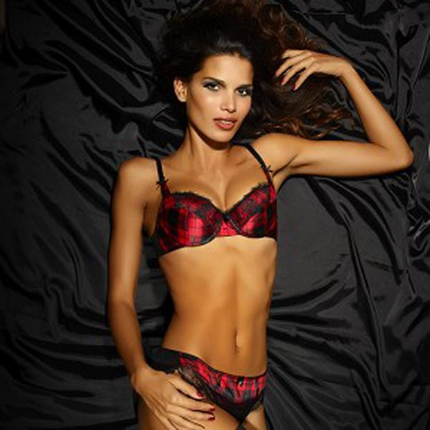 Ultimo Launches Tartan Lingerie