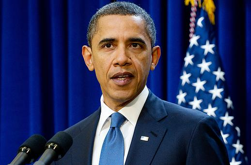 US President Barack Obama speaks about a two-year proposal to freeze most government salaries. Photo: Getty Images