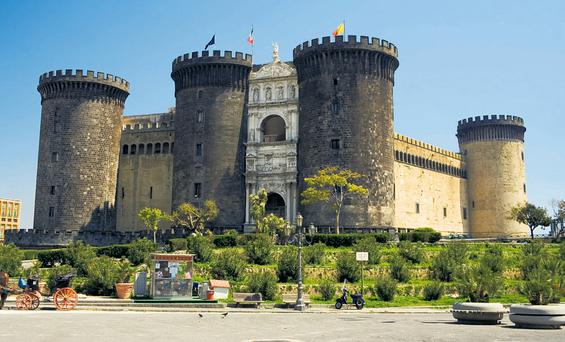 The Castel dell'Ovo Naples