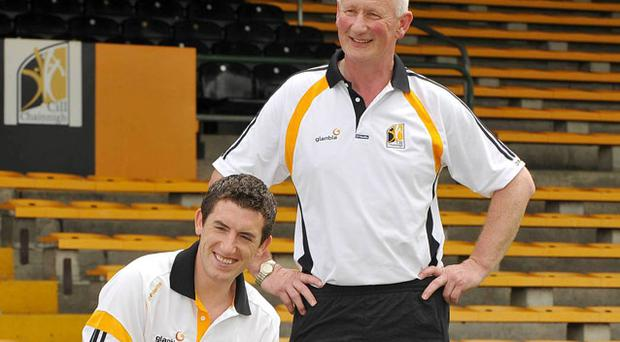 Brian Cody says midfeilder Derek Lyng (left) will be 'sorely missed' in the dressing-room after announcing his retirement.