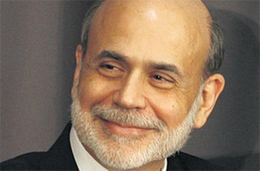 Fed chairman Ben Bernanke may be forced into a third round of 'printing money' to tackle the static US unemployment stuck at near 10pc