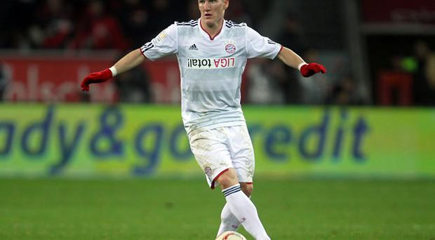 Bastian Schweinsteiger is being courted by Manchester United. Photo: Getty Images