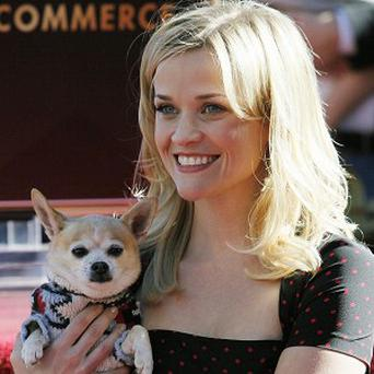 Reese Witherspoon has been honoured with a star on the Hollywood Walk of Fame