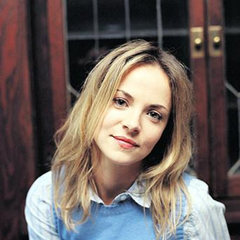 Gemma Hayes sings on the double album Then and Now