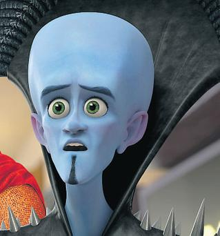 Megamind isn't the most original, but looks great