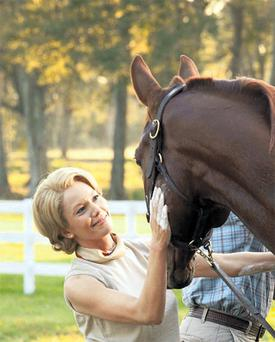 Diane Lane plays maverick horse breeder Penny Chenery