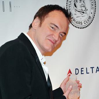 Director Quentin Tarantino faced some good-natured roasting from his famous friends