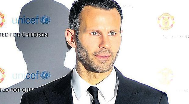 Ryan Giggs arrives at the Manchester United 'United for UNICEF' gala dinner at Old Trafford recently.The legendary winger may be a more frequent guest at such events when he eventually hangs up his boots.