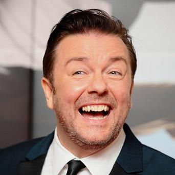 Ricky Gervais is the latest star to be lined up for The Muppets movie