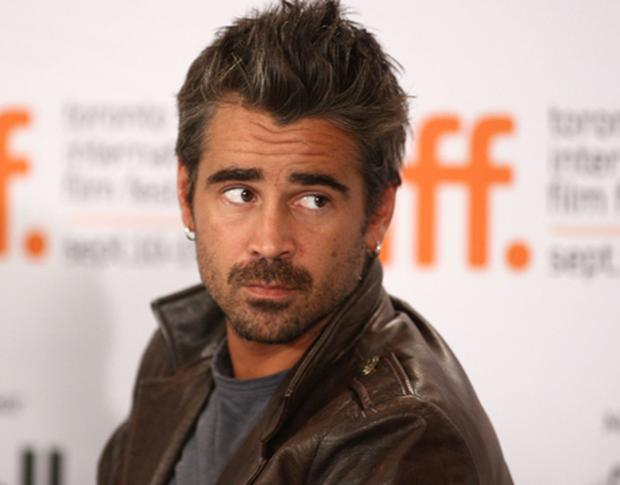 HAIR-RAISING: Colin Farrell. Photo: Getty Images