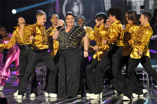 Mary Byrne put on a glittering performance during Saturday's show but it wasn't enough to save her