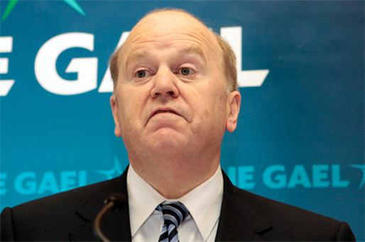 Fine Gael Finance spokesman Michael Noonan