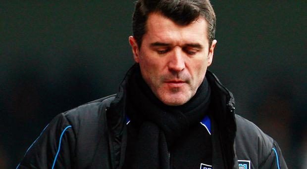 Roy Keane saw his Ipswich side lose their fifth league game in a row in front of another diappointing crowd at Portman Road. Photo: Getty Images