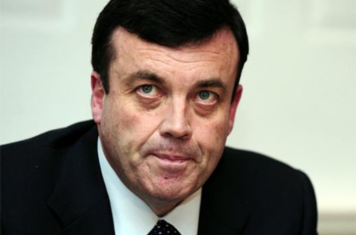 Finance Minister Brian Lenihan. Photo: Bloomberg News