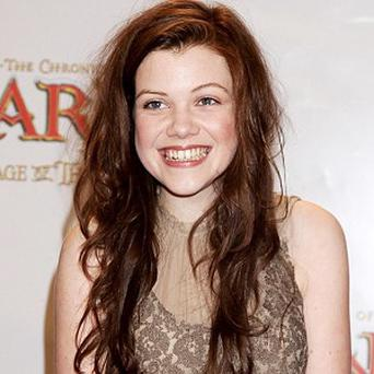Georgie Henley fainted underwater during her dive training