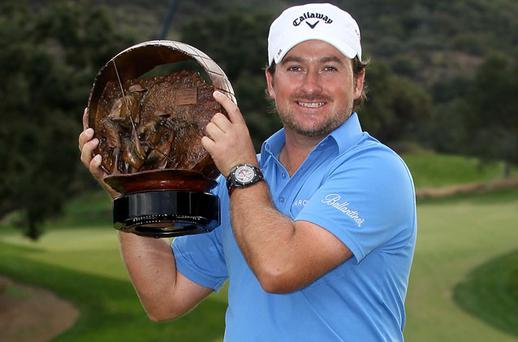 Graeme McDowell winner of the Chevron Challenge Cup. Photo: Getty Images