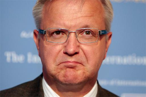 Commissioner Olli Rehn: urged to protect values that have been at the heart of building European political cooperation