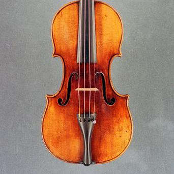 The antique Stradivarius violin was stolen when its owner bought a sandwich
