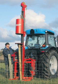 STRENGTH IN DEPTH: The Landini 5-110H proved to be an impressive performer as a yard tractor for farmers