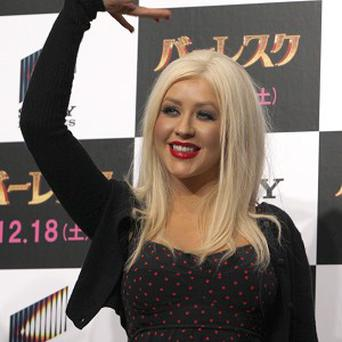 Christina Aguilera found the dancing for her latest film role tough on her poor feet