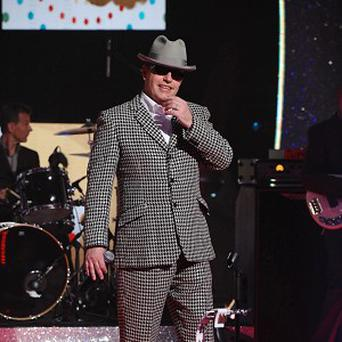 Suggs from Madness 'performed' on the charity single